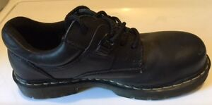 Dr. Martens Industrial Steel Toe Lace-Up Shoes