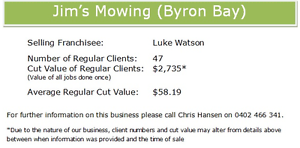 Jims Mowing Byron Bay Business Lennox Head Ballina Area Preview