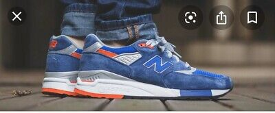 New Balance 998CSAL Blue Orange UK 11 US 11.5 Euro 45.5