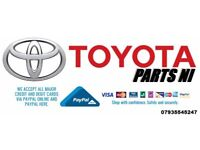 ♻ Toyota Parts NI ♻.. Spares Breaking Repairs Upgrades Damaged Salvage Accessories Export