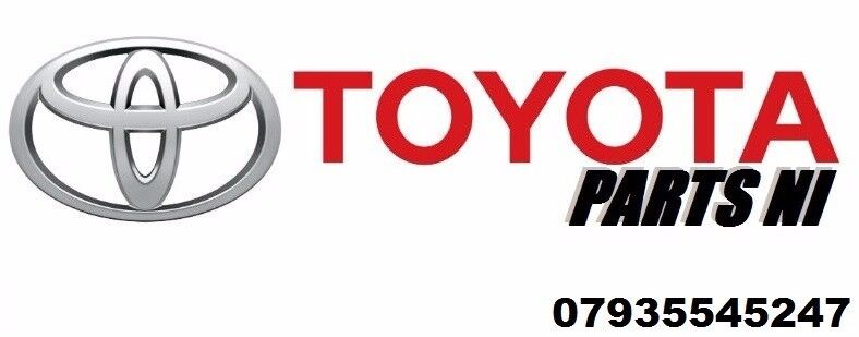 Toyota Parts NI for spares damaged salvage parts alloys tyres used/new