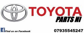 Toyota Parts NI breaking spares damaged salvage parts alloys tyres used/new