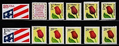 2475, 2517 - 2522 & 2524 - 2527 COMPLETE F RATE TULIP SET/12 - MNH