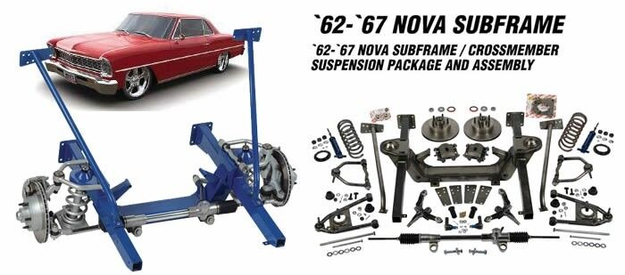 Heidts Cx-320-s-k 1962-67 Nova Chevy Ii Sub Frame M-2 Mustang Ii Front End Kit