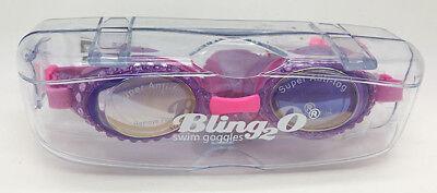 Bling2O Glamorous Swimming Goggles For Kids Anti Fog, No Leak purple ...pink  - Swim Goggles For Kids