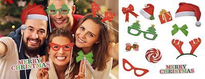Foto- und Selfie Weihnachten Weihnachtsfoto Weihnachtskarte Fotografie Set