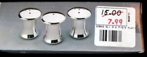 Individual Silver-Plated Salt & Pepper Shaker Sets (8 Sets)