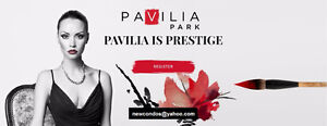 Pavilia Park Towns by Times Group at Thornhill Markham, VIP sale