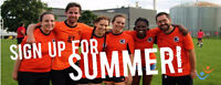 Play Adult Co-ed Sports with FCSSC this Summer!