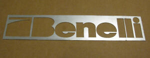 Large Steel BENELLI Sign - Custom Made for Gun Store - 93x18.5см