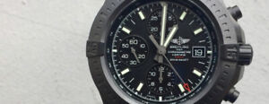 New Breitling Colt Chronography Black Steel Automatic 44mm