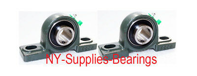 Ucp205-16 Premium Pillow Block Bearing 1 Inner Diameter Qty. 2 2 Side Rubbe
