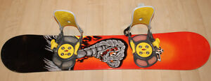 Complete Snowboard 5150 / 49in / 125cm + Boots size 6
