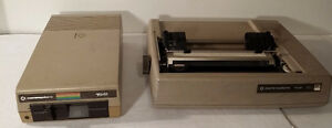 Commodore Printer 1526 & Floppy disk 1541