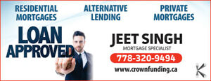 PRIVATE FIRST MORTGAGE AT AS LOW AS 5.99%