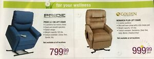 Brand new Reclining electric lift chairs