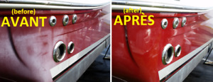 Buffing / Polissage (all kinds), Sanding, Cire / Wax, Cleaning