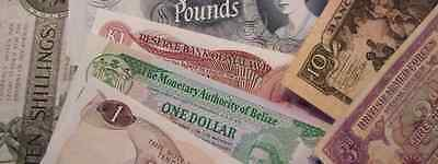 NORFOLK NOTES WORLD PAPER MONEY