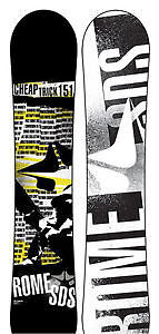 ROME SNOWBOARD 151 - CHEAP TRICK - STEAL OF A DEAL