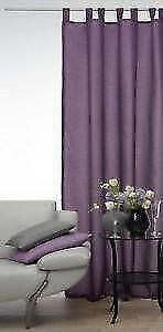 gardinen lila ebay. Black Bedroom Furniture Sets. Home Design Ideas