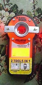 Bullseye Auto Levelling Laser/Studfinder/B&D. Used once.