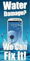 Water Damage Treatment: iPhone 4, 4s, 5 Samsung S3 S2 + More