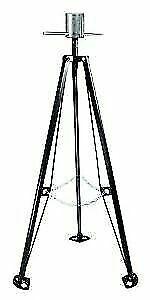 Fifth Wheel King Pin stabilizer steel tripod  with lock