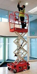 3010E SNORKEL ELECTRIC INDOOR SCISSOR LIFT FOR RENT $110