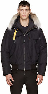 Authentic Parajumpers Gobi Jacket In Black, Size XL