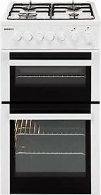 USED BEKO white cooker. Gas hob/electric oven.