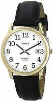 Timex T2H291 Men's Easy Reader Gold Tone Stainless Steel Watch