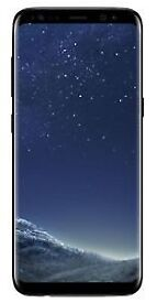 Brand new Samsung galaxy S8 64 black ox box sealed never opened