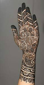 Henna Designs /bridal henna,Henna Party(chamicals Free) Kitchener / Waterloo Kitchener Area image 3