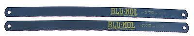 2 Nos Millers Falls Usa 17 X 1x.05 10t Blu-mol Hs Power Hacksaw Blade 7410m