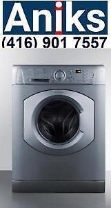 Ariston ARWDF129SNA 24in Built-In All-In-One Vent-less110v Washer Dryer Combo Platinum. Made in Italy