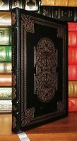 Beautiful Leather Bound Books:22k gilding/silk moire endpapers