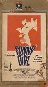 Funny Girl VHS (Omar Sharif)