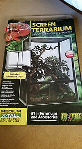 Exo Terra Screen Terrarium for sale **Brand New** Priced to sell
