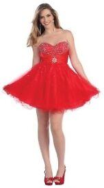 Beverly Hills Short Embellished Bust Dress.