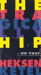 Tragically Hip - RARE - Heksenketel VCR