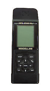 Magellan GPS 2000XL Handheld Very Good in case.