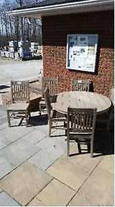 Outdoor Dining Table and 6 Chairs Kitchener / Waterloo Kitchener Area image 1