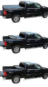 Soft Tri-Fold Tonneau Cover Ford Superduty 1999-2016 London Ontario image 4