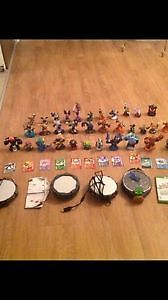 A big lot of Skylanders and accessories. AVAILABLE
