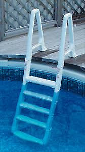 """pool ladder or steps for 52"""" above ground pool"""