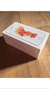 Rose Gold (Pink) iPhone 6S 32 GB Brand New Sealed Rogers, Fido, Chatr 1 Year Apple Warranty