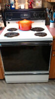 White and Black Electric Stove in Bayfield