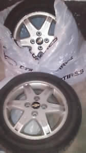 Chevy Rims tires