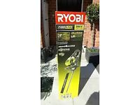 Brand new & boxed Ryobi Petrol Hedge Trimmer with twist and turn handle