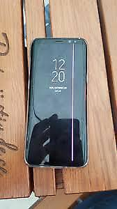 USED ROGERS S7 EDGE FOR SALE WITH PINK LINE FROM DEAD PIXELS!
